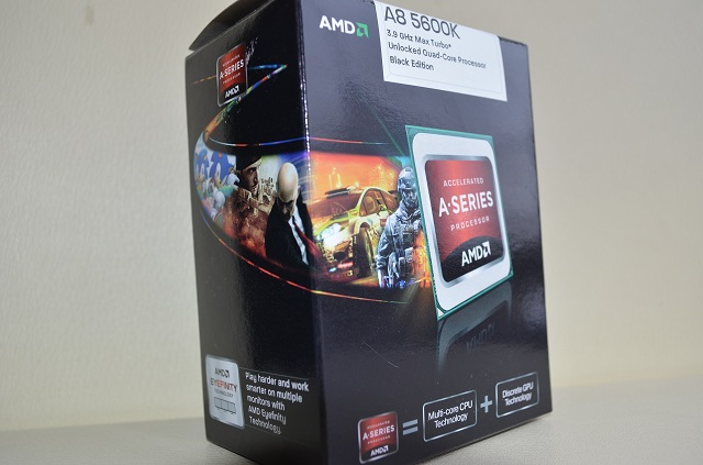 AMD A8-5600K with Radeon HD 7560D